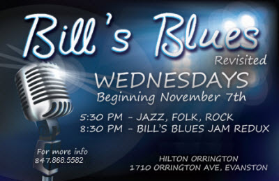 Bills Blues Evanston IL