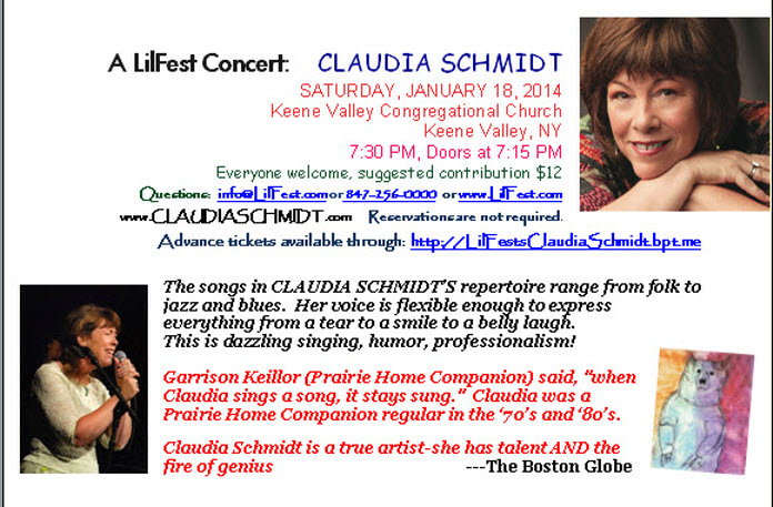 Claudia Schmidt January 28