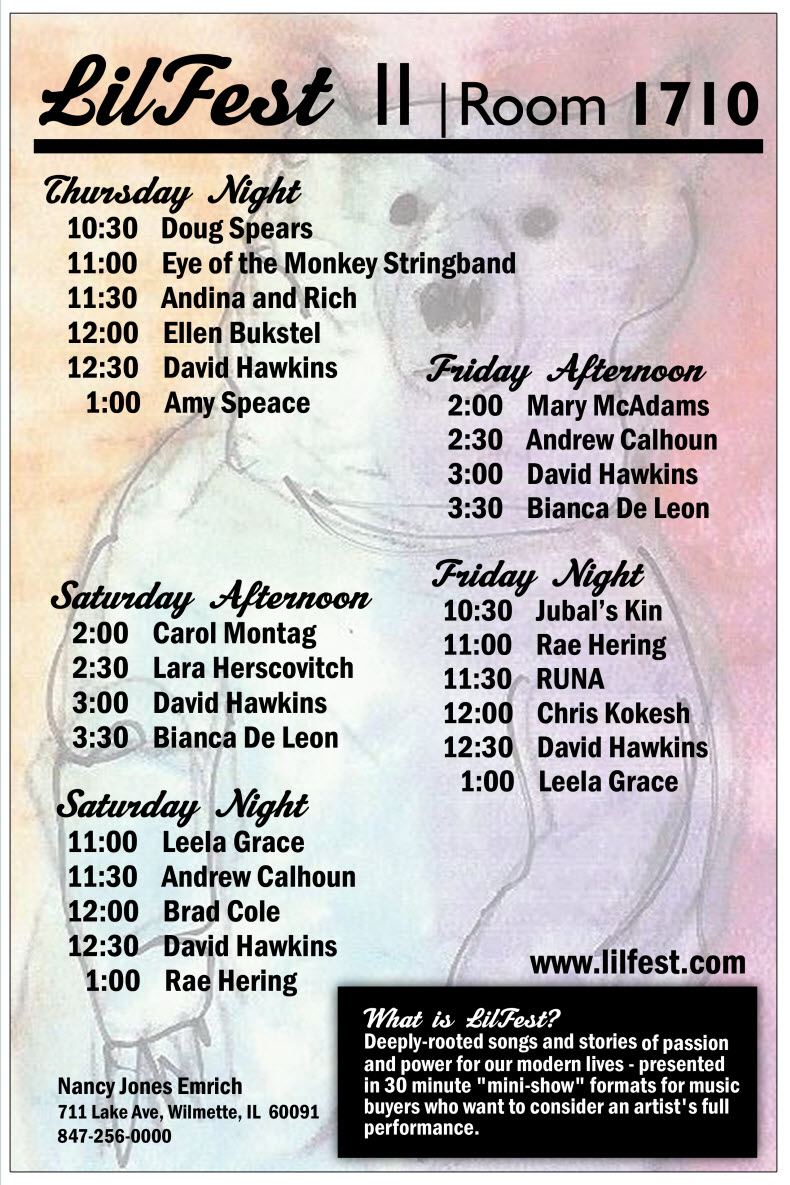 National Folk Alliance 2011- Lilfest